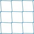 Siatki Warszawa - Sznurkowe siatki na boiska Siatka osłonowa zabezpieczająca ? mocne zabezpieczenie na ogrodzenie boiska. Siatka z polipropylenu PP o grubości sznurka 3mm wystarczy do zabezpieczenia większości typowych boisk sportowych. Siatka posiada oczko 10x10cm co stanowi doskonałe rozwiązanie dla wszystkich wymagających zabezpieczenia przed dużymi i małymi piłkami, klasycznie używanymi w rozmaitych grach sportowych. Mocne tworzywo pozwala na zastosowanie siatki jako całorocznego zabezpieczenia.